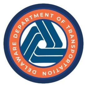 Graphic of Delaware DOT Logo